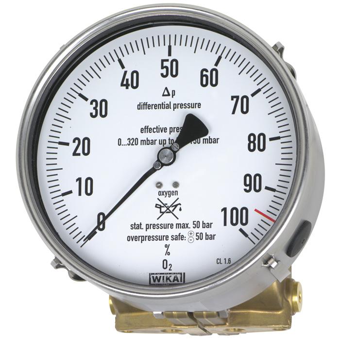 Man metro de presi n diferencial for Manometro para medir presion de agua