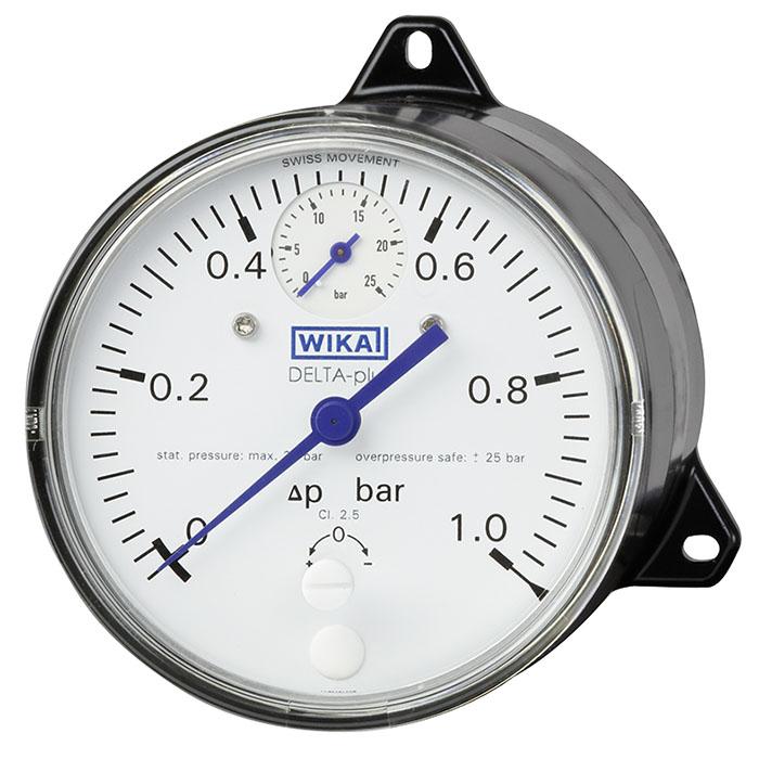 Man metro de presi n diferencial dpg40 wika m xico for Manometro para medir presion de agua
